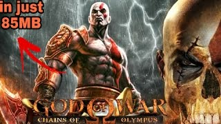 (85mb😱)How to download God of War Chains of Olympus (highly compressed) in Android device
