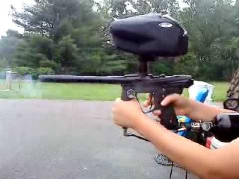 The Ion Xe Paintball Gun
