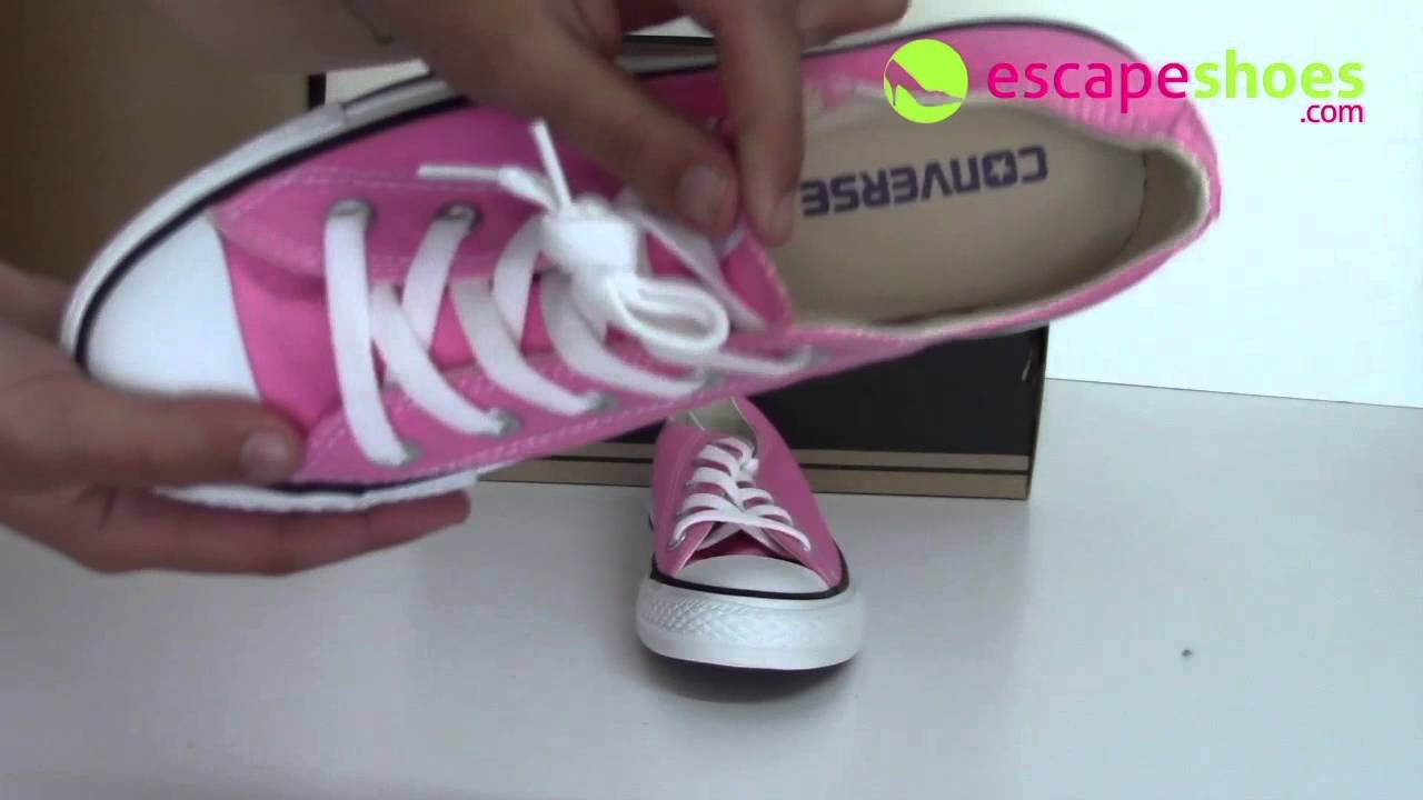 59b73a87bacd57 Sneakers CONVERSE All Star M9007 650 Ox Pink - YouTube