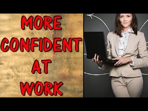 how to rebuild confidence at work