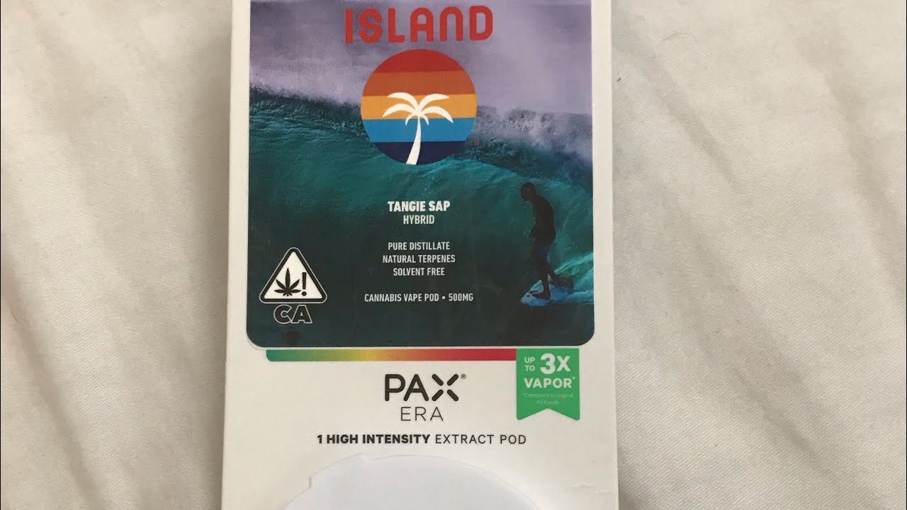 Island tangie sap pax era pod review!