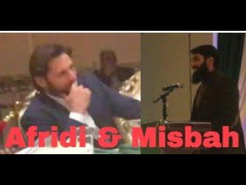 Misbah Ul Haq Speech On Why People Love Afridi | Funny Q&A | Chicago | Shahid Afridi Foundation