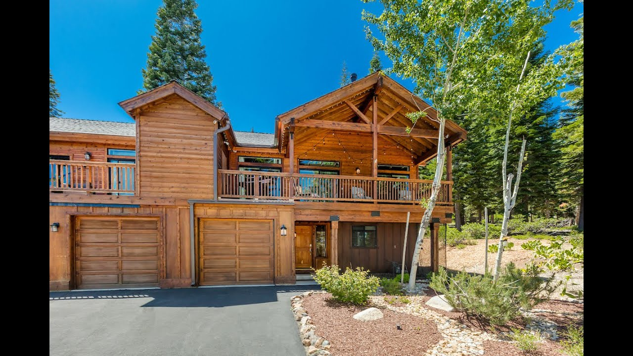 16388 Skislope Way, Unit 4   Truckee, CA 96161   Townhouse in Tahoe Donner!