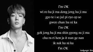iKON (아이콘) – I'm Ok (Easy lyrics)