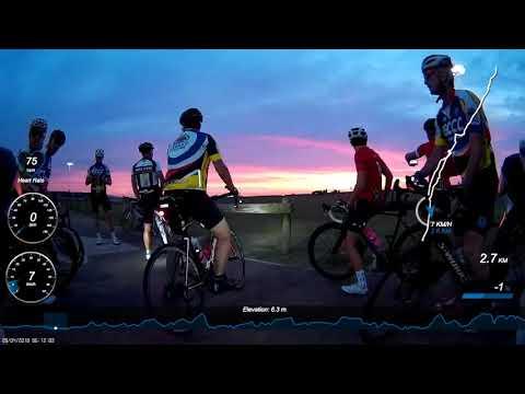 ECCC Pre Tour Durban Warm Up Ride, 28 April 2018