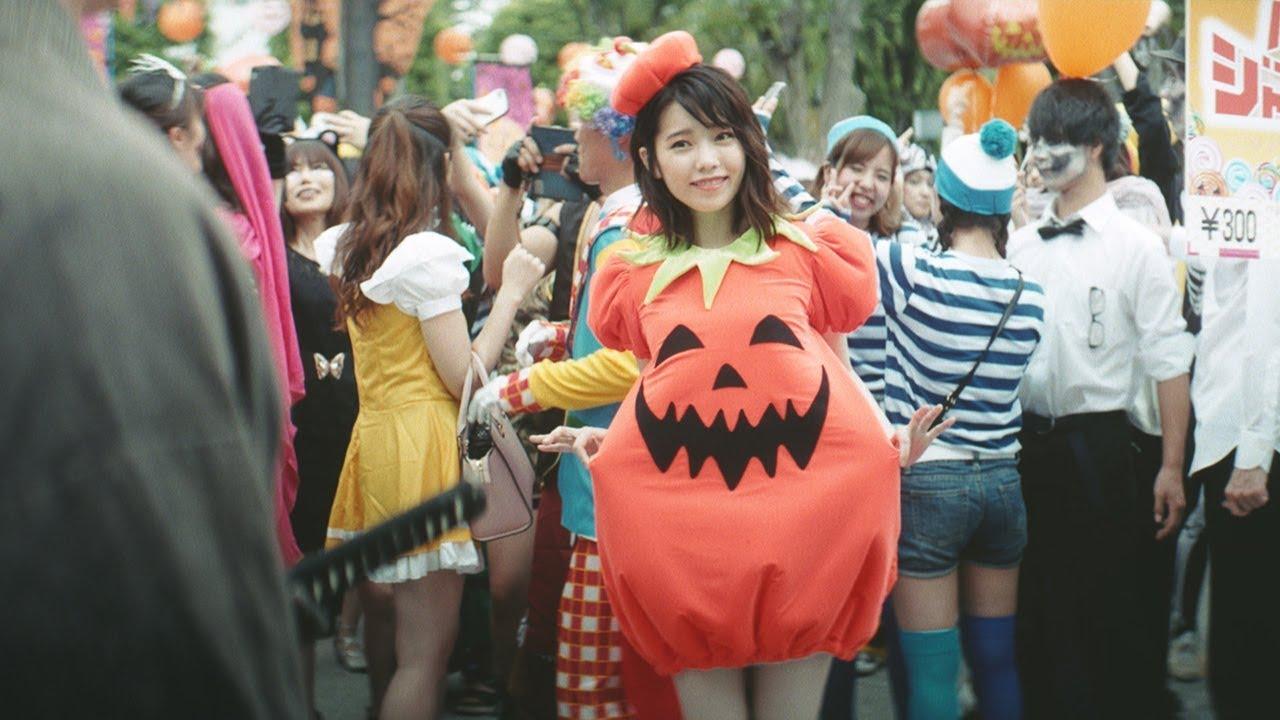 Haruka Shimazaki, cosplays as cute pumpkin