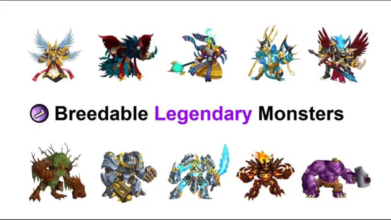 how to breed legendary monsters in monster legends 2019
