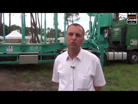 Appydro, fabricant français de grues forestières