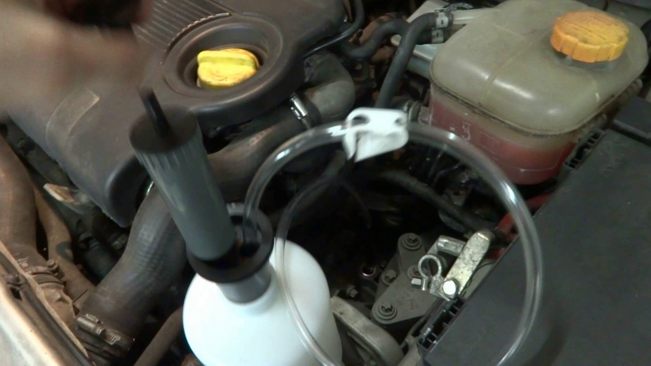 M32 Gearbox - Draining Old Oil The Easy Way Without Getting Your Hands Dirty