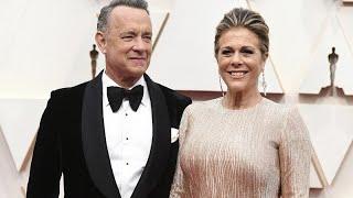 توم هانكس وزوجته يعلنان إصابتهما بفيروس كورونا الجديد