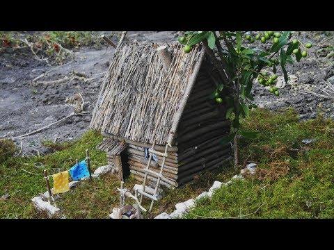 Дом из мусора и веток: нестандартные идеи сказочных жилищ