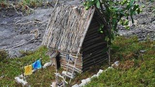домики из природного материала