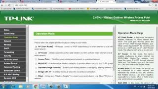 Configuracion de TP-Link 7210N modo repetidor Cliente WISP Router