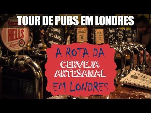 Tour de pubs em Londres: A Rota da cerveja artesanal em Londres
