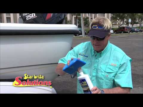 How to Clean Boat Hull Fiberglass Stains