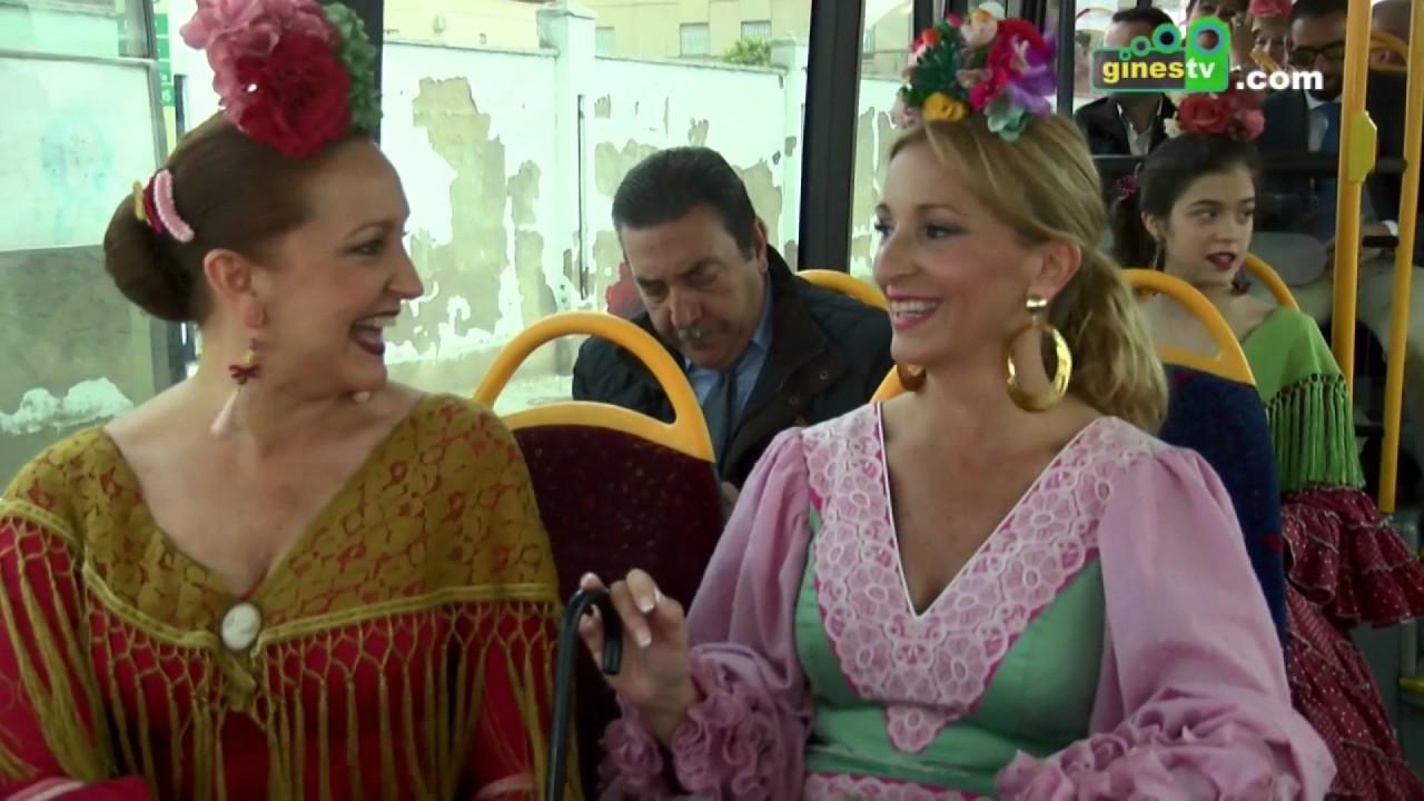 El servicio especial de autobuses a la Feria de Abril comenzará este año el 'sábado del alumbrado'