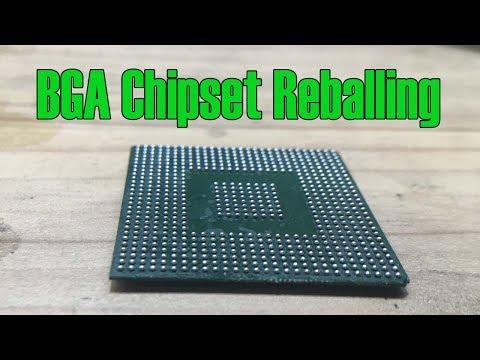 BGA Chipset Reballing | How To Do BGA Chipset Reballing