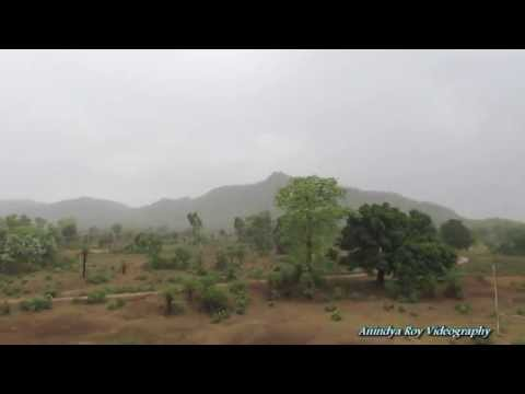 Monsoon magic at Chotanagpur Plateau : Jabalpur Howrah Shaktipunj Express