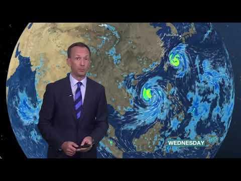 Typhoon Doksuri hits Vietnam, Typhoon Talim strikes Taiwan - BBC Weather| Feet 2017