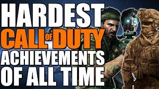 HARDEST Call of Duty Achievements & Trophies Through The Years