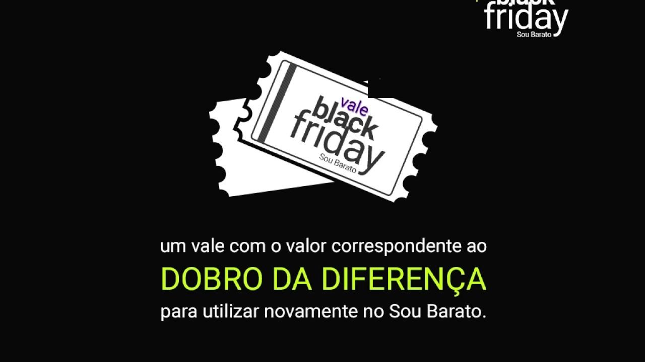 Compromisso Pré Black Friday 2016. Sou Barato 361599179e68