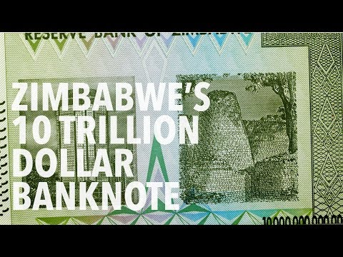 10 Trillion Zimbabwe Dollars - Featuring The Reserve Bank Of Zimbabwe And Great Zimbabwe