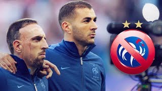Why have Benzema and Ribéry stopped playing for France? - Oh My Goal