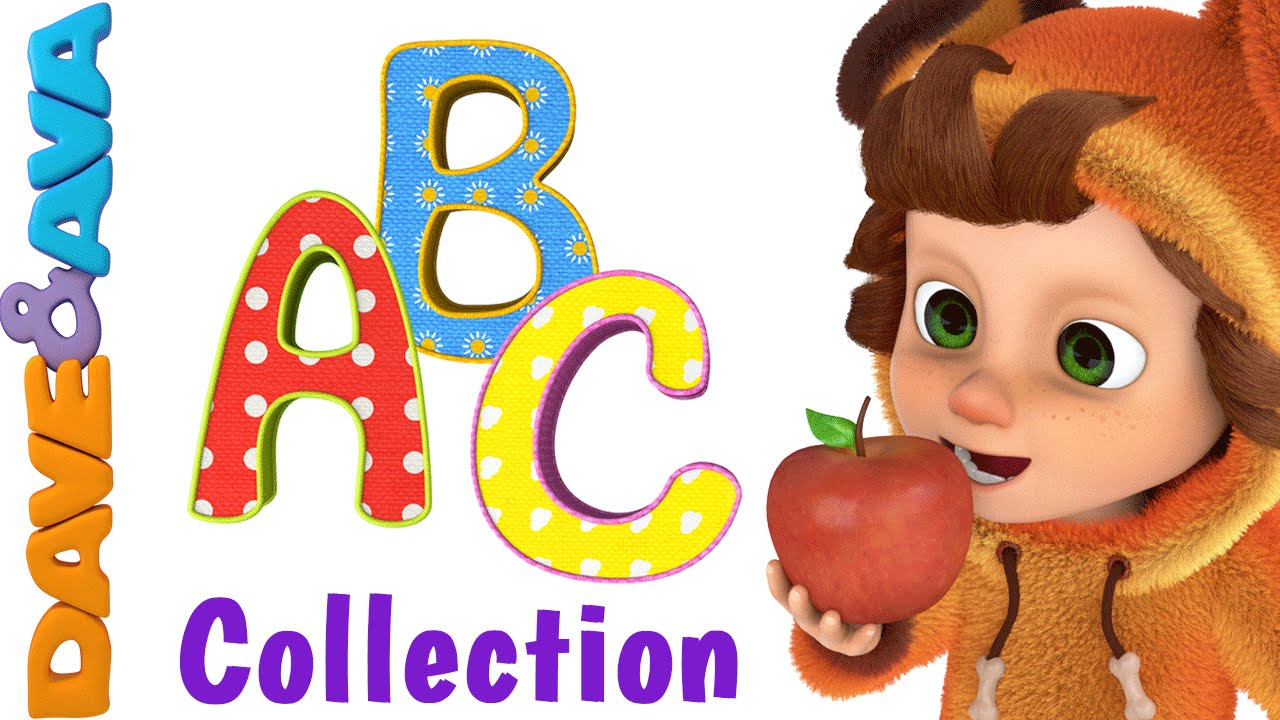 The Phonics Song Abc Song Collection Youtube Nursery Rhymes From Dave And Ava