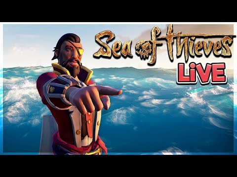 We're LIVE! 💣 - Grinding Voyages & FORTS!?! - Sea of Thieves Gameplay