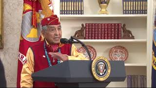 Navajo Nation leader reacts to President Trump's use of the name 'P...