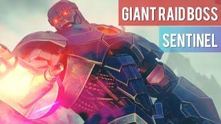 Giant Boss Raid (Sentinel) Clear + Rewards | Marvel Future Fight
