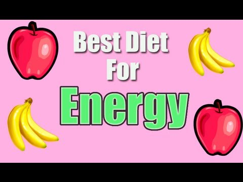 Eating Healthy provides more energy throughout the day