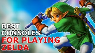 What Consoles Play the Most Zelda Games?