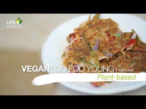 Vegetarian Egg Foo Young