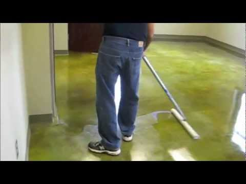 How To Finish A Concrete Floor With A Floor Finish