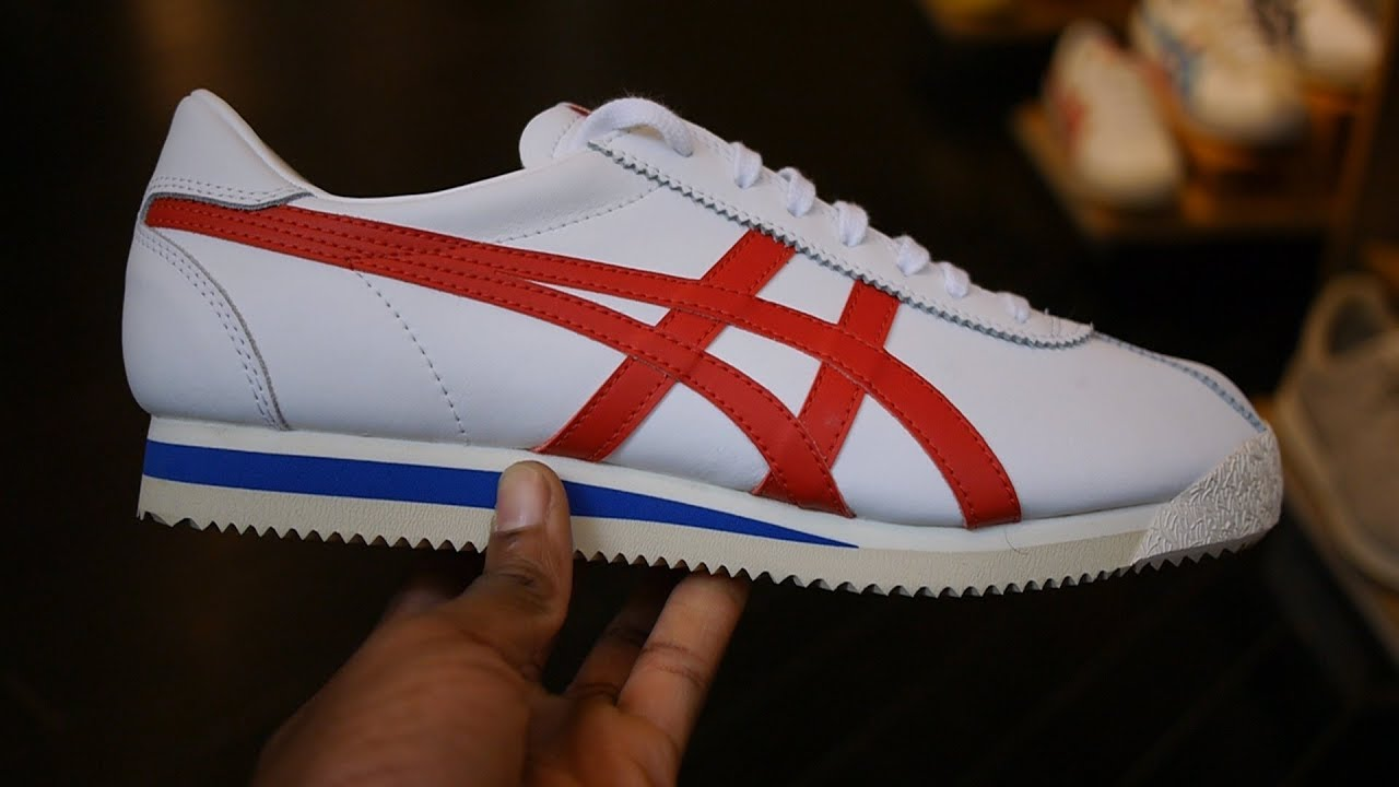 Onitsuka Tiger Corsair Quick Look & On Feet (White + True Red)