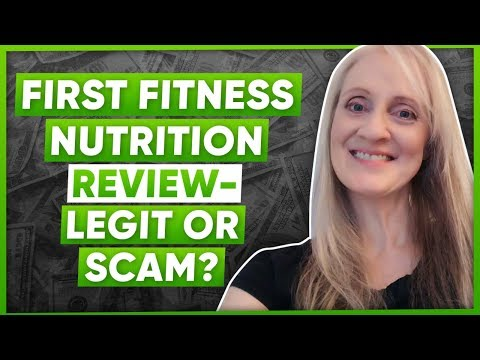 First Fitness Nutrition Review - Legit Or Scam?