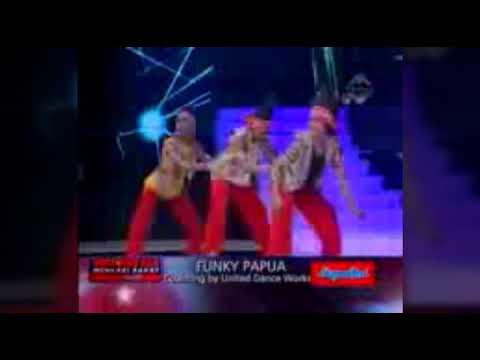 Vidio lucu funky papua danser.