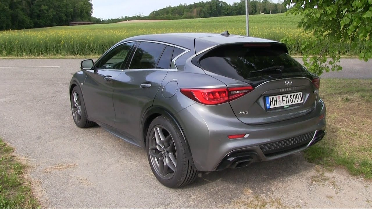 2016 infiniti q30 sport dct awd 170 hp test drive by test drive freak youtube. Black Bedroom Furniture Sets. Home Design Ideas