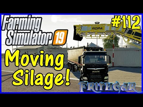 Let's Play Farming Simulator 19 #112: Moving Silage!
