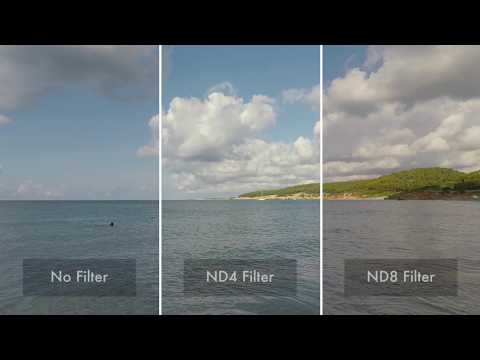 ETHIX Gehärteter ND4 Filter for GoPro 6 /& 7