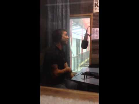 Visita a radio KLA  Mar del Plata