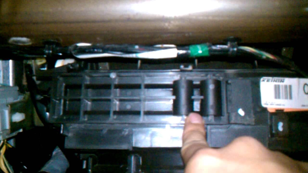 2005 Honda Civic Cabin Air Filter Replacement - YouTube