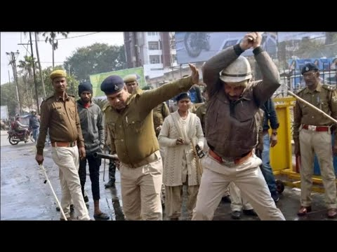 Indian police beating beyond mercy