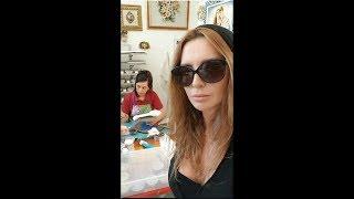 Оксана Марченко в творческой Деревне мастеров на Мальте