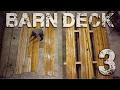 Barn Deck pt. 3 - Gravel, Metal, and Cedar