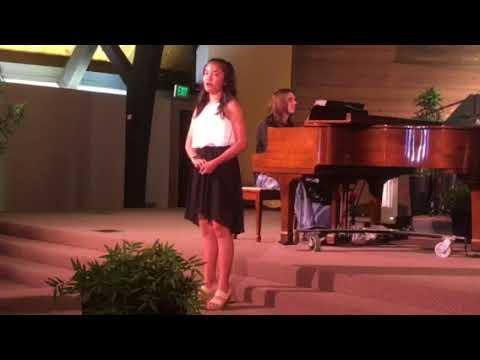 12 year old Amanda Marcos sings 'This Is Me'