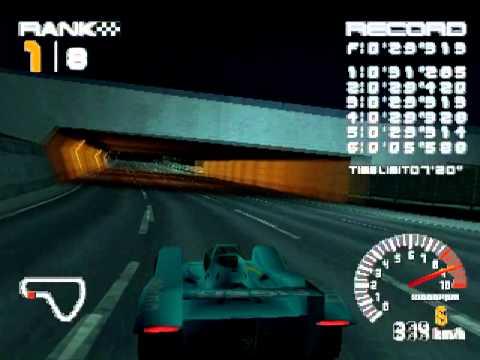 [Ridge Racer Type-4] - Final Stage(Shooting Hoops) Lizard Reckless