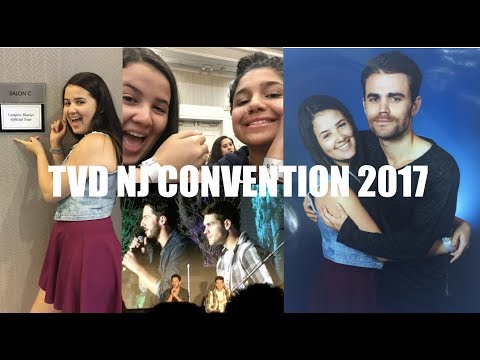 MEETING PAUL WESLEY// TVD NJ CONVENTION 2017 VLOG