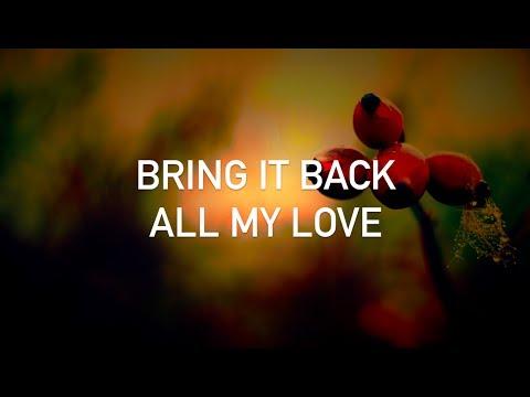 Conor Maynard, Cash Cash - All My Love (with lyrics)